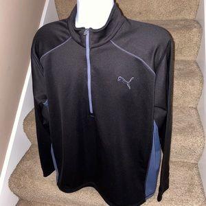 Puma 1/4 zip lightweight mens casual golf pullover